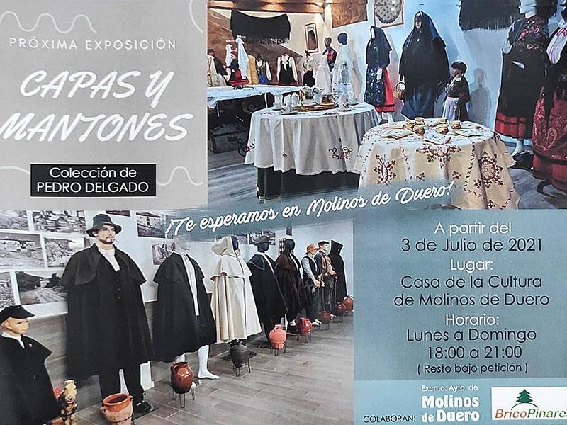 La Casa de Cultura de Molinos acoge la exposición 'Capas y Mantones'