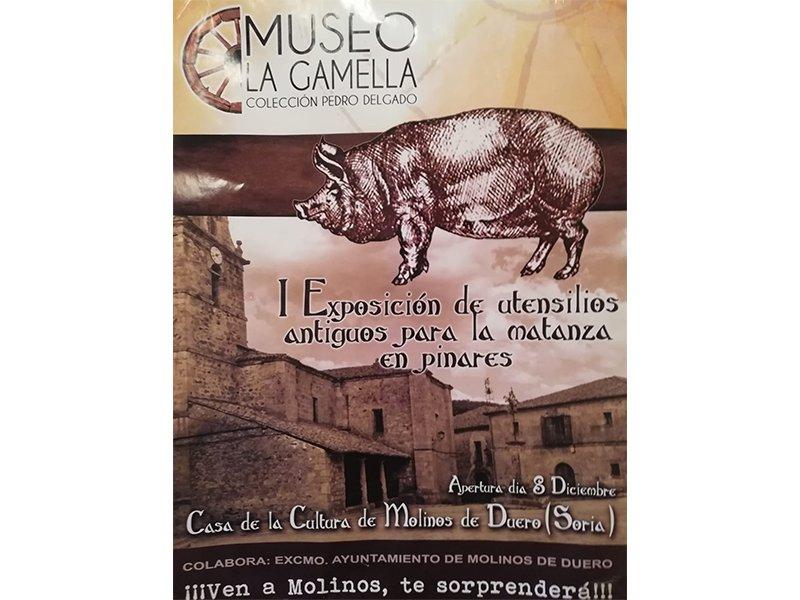 I Exposición de utensilios antiguos para la matanza en Pinares